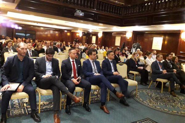 Jakov Vetma na 5. kongresu povijesnih gradova u Solinu